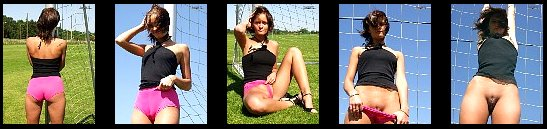 FIFA Word Cup cameltoe Goal Keeper in thight