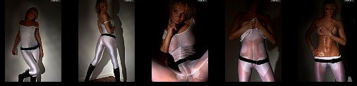 Spandex Fashion wet Spandex in the Darkness Wet see-through hairless and Huge Toe 61 sexy exclusive TCP Photos